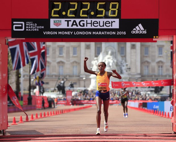 sumgong jemimah, london marathon, nike, rosa associati