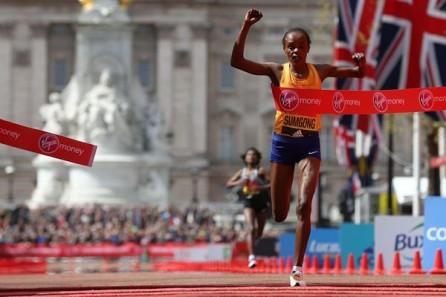 london marathon, nike rosa tema, nike