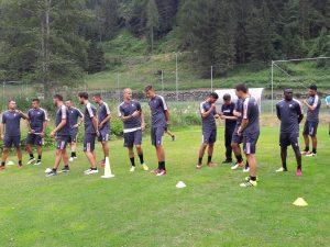 Test atletici al Palermo Calcio