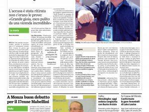 Dal Giornale di Brescia del 23/11/2016